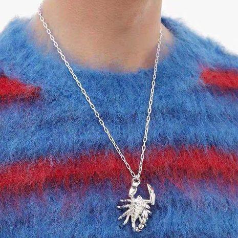 Venta al por mayor joyería de moda pin trenza pendientes trenza suéter cadena collar NHYQ181363's discount tags