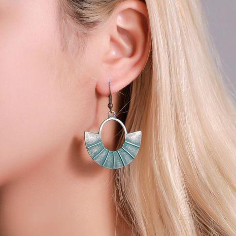 Aretes para mujer de ventilador retro de temperamento pendientes de bronce antiguos joyas antiguas creativas NHDP181298's discount tags