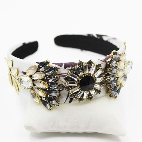 Fashion diamond sun headband NHWJ181540's discount tags