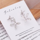 New pearl earrings Korean fashion microstudded earrings wholesale fashion jewelry NHDO181388