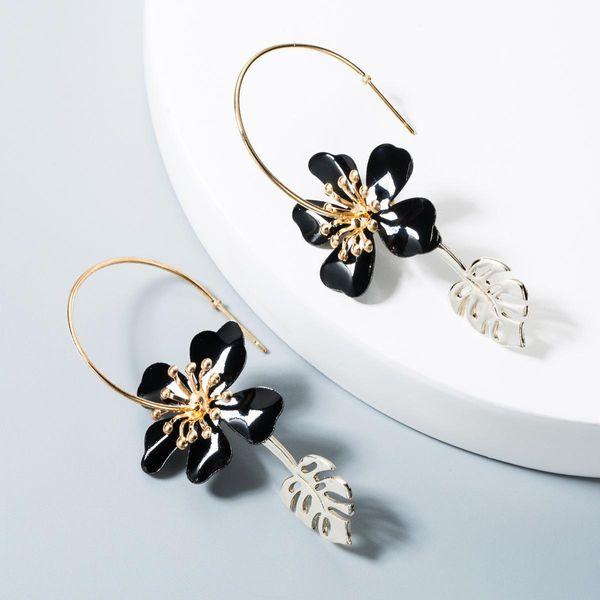 Fashion Earrings Leaf Flowers Fashion Earrings Wild Earrings NHLN181858