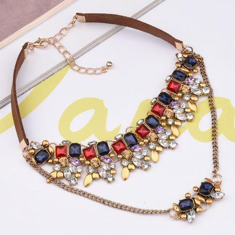 Mode Simple sauvage élégant femmes collier collier vêtements accessoires en gros mode NHVA181807's discount tags