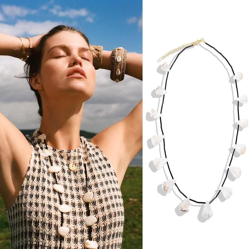 New trend shell conch necklace trend jewelry necklace women wholesales fashion NHJQ181720