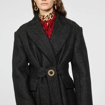 Broche de aleación de metal simple ropa bufanda pin moda abrigo salvaje accesorios NHJQ181708