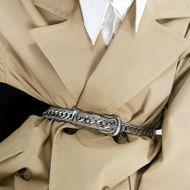 Cinturón de metal pesado cinturón de hip-hop estilo de explosión accesorios de vestir al por mayor de moda NHJQ181702