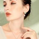 Sterling Silver Earrings Korean Crystal Diamond Butterfly Earrings New Pearl Earrings NHQD181745