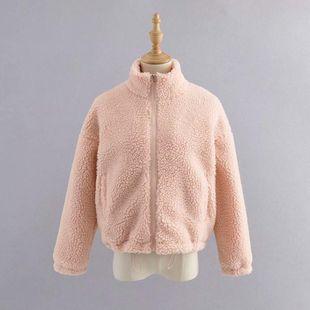 Wholesale 2019 Winter Lamb Fur Women's Jacket Jacket NHAM182070's discount tags