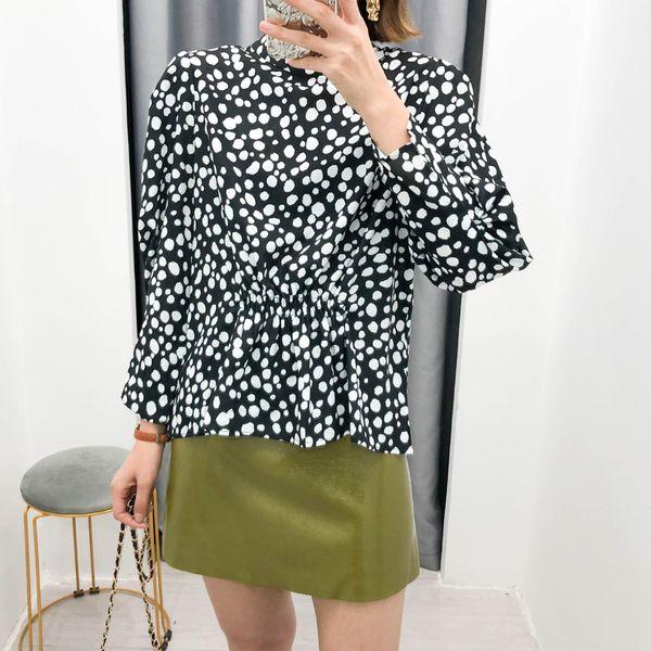 Wholesale 2019 Women's Loose Print Top Shirts wholesales fashion NHAM182053