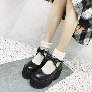 Bow buckle student shoes wholesales fashion NHHU182143's discount tags