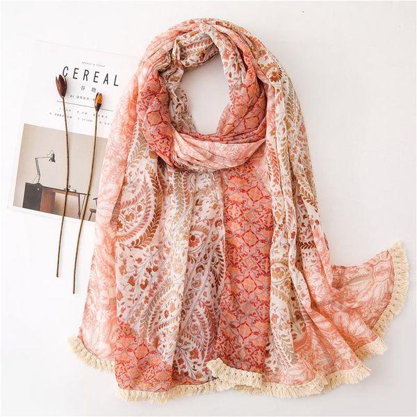 Fashion simple scarf NHGD182225