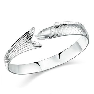 Fashion Women Silver Plated Bangle Bracelet Women Jewelry Bracelet Jewelry Wholesale NHQL182480's discount tags