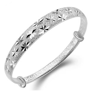 Gypsophila Bracelet Sterling Silver Jewelry Fashion Wholesale NHQL182483's discount tags