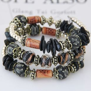 Bohemian style shell accessories mix and match multi-layer temperament bracelet NHSC181212's discount tags