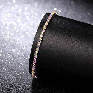 Rhinestone Bracelet Elastic Bracelet AB Diamond Korean Single Row Flash Diamond Elastic Crystal Bracelet 2.0mm NHIM182285's discount tags
