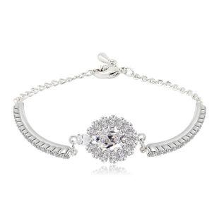 women's bracelet wholesaleAAA zircon caper rhinestone fashion bracelet NHTM182433's discount tags