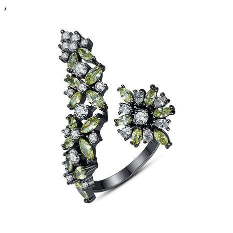 Bague ouverture créative dames taille anneau réglable banquet cadeau rétro NHTM182420's discount tags