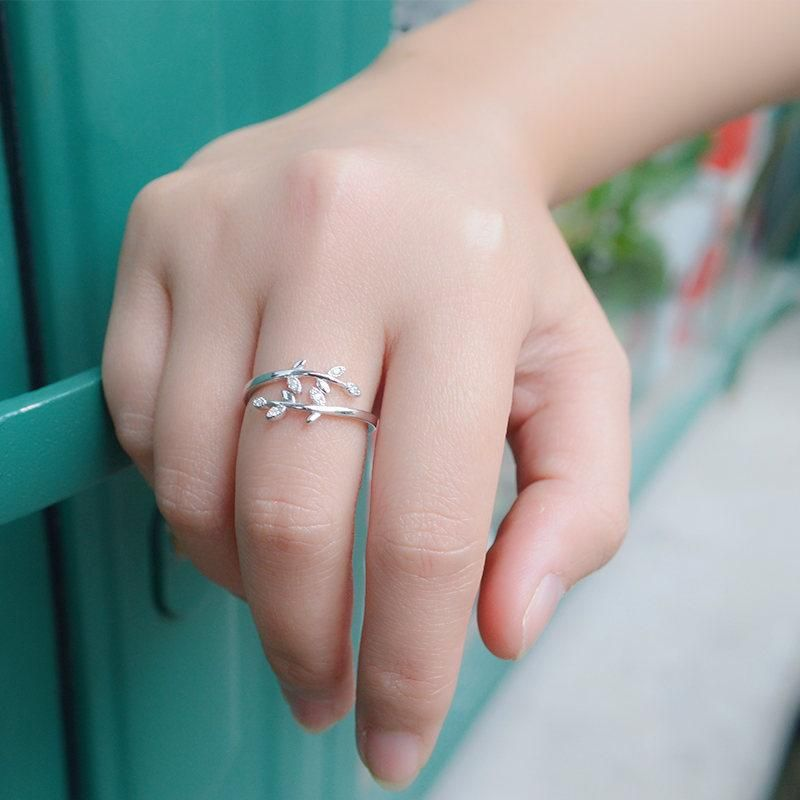 Ring fashion opening women's rings fashion jewelry wholesale NHIM182317