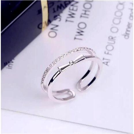 Bague femmes ouverture réglable lumière luxe doigt bague en gros bijoux de mode NHIM182348's discount tags