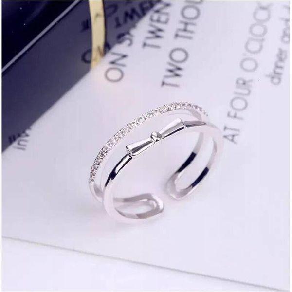 Ring women opening adjustable light luxury finger ring wholesale fashion jewelry NHIM182348