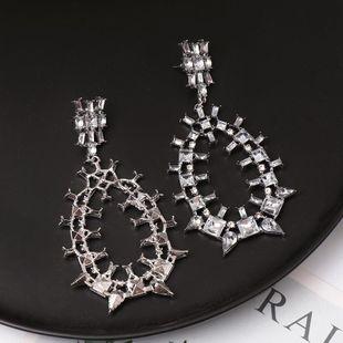 Jewelry Wholesale Geometric Earrings Tassel Long Exaggerated Earrings NHJJ182237's discount tags