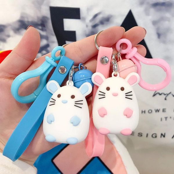 Mouse Fatty Keychain Pendant Couple Keychain Personality Wholesale NHBM182668