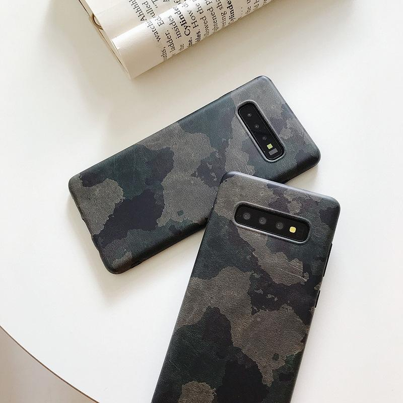 Personalized antique camouflage Samsung frosted shell NHDV182739