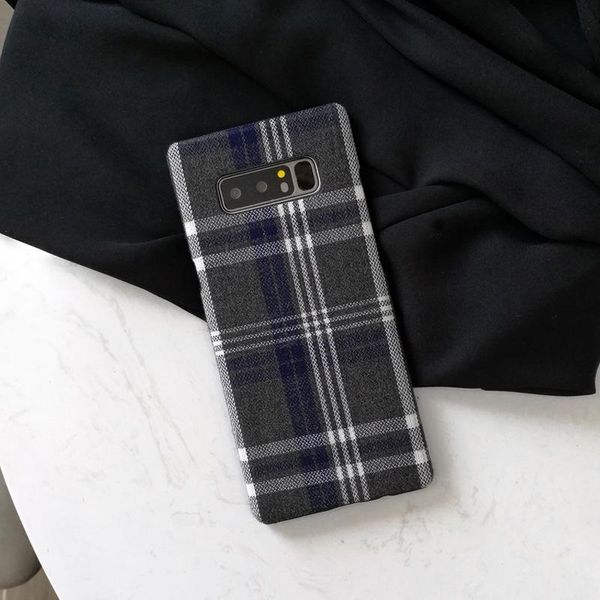 Simple checkered Samsung note9 phone case NHDV182740