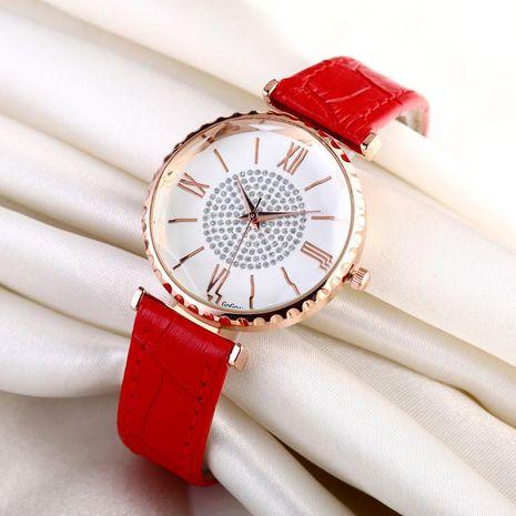 Nueva moda para mujer Reloj de gama alta Diamond Starry Belt Reloj de cuarzo Reloj de moda para mujer NHSY182798's discount tags