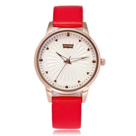Nuevas señoras de lujo relojes populares relojes de correa de cuarzo simple al por mayor NHSY182807's discount tags