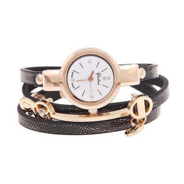 Ver moda al por mayor reloj fino correa de reloj pulsera de cuarzo reloj de moda para mujer NHSY182818