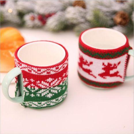 Juego de tazas de lana de punto navideño Juego de tazas de té de punto de lana navideñas Juego de tazas de vidrio Juego de tazas de cerámica Juego de tazas NHMV182593's discount tags