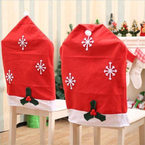 Decoraciones navideñas Decoración de mesa navideña Conjunto de silla navideña de artículos navideños NHMV182595's discount tags