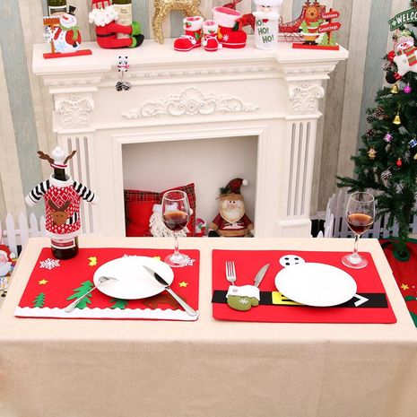 New Christmas placemat, Christmas cutlery, Christmas homeware, Christmas table decorations NHMV182596's discount tags