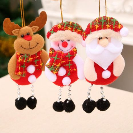 New Christmas decorations Santa hanging Christmas tree decorations Christmas daily necessities NHMV182603's discount tags