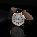 Gold Case Highend Mens Belt Quartz Watch Mens Business Watch NHSY182811