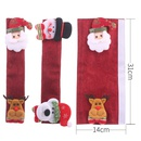 Christmas decoration supplies microwave oven gloves sackcloth refrigerator refrigerator gloves oven cover NHHB182573