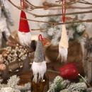 New Christmas Decoration Wine Bottle Cover Faceless Doll Wine Bottle Cap Santa Small Pendant Explosion NHHB182589