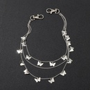 Creative butterfly multilayer body chain female personality punk waist chain NHNZ181738