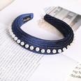 NHDM494313-Dark-blue-pearl-sponge-headband