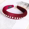 NHDM494312-Date-Red-Pearl-Sponge-Headband
