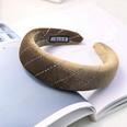 NHDM494359-Brown-Velvet-Sponge-Headband