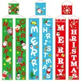 NHHB493764-Christmas-couplet-hanging-cloth-green