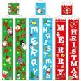 NHHB493765-Christmas-couplet-hanging-cloth-blue