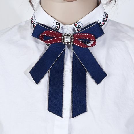 Nouvelle exquise épingle à cravate en strass haut de gamme avec bijoux NHJJ182935's discount tags