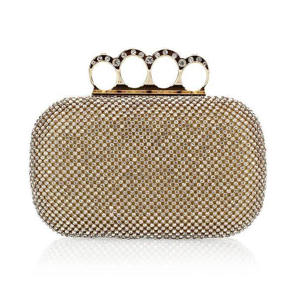 Women's bag with diamond dinner bag fashion bag wholesales fashion NHYG182992