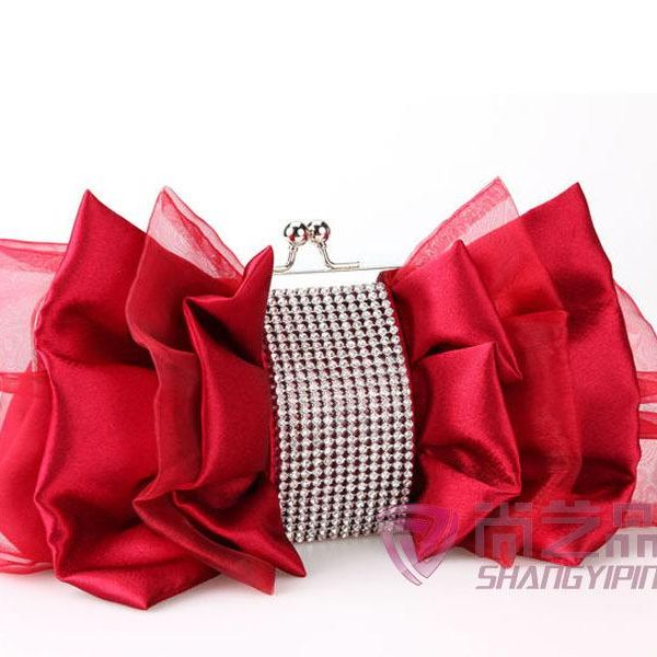 Evening party bag bridesmaid bag satin fabric gift gold bag wholesales fashion NHYG182994