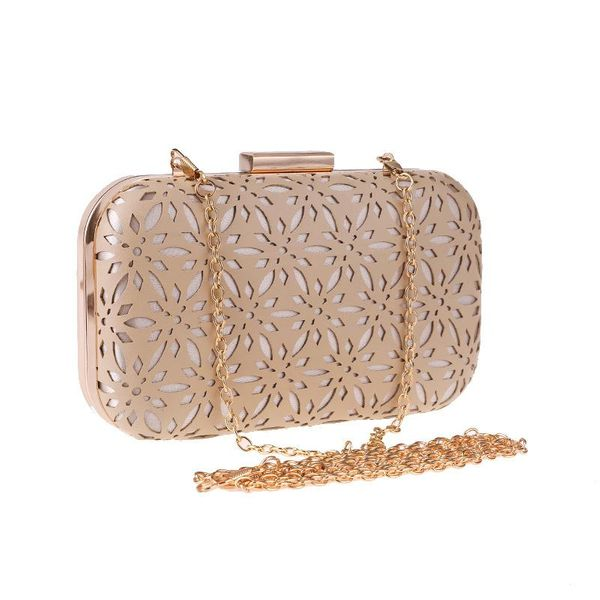 Simple Handbag PU Hollow Women's Evening Party Clutch wholesales fashion NHYG182998