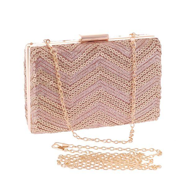 Fashion Bag Sequin Party Bag OL Bag Clutch Women's Bag NHYG183012