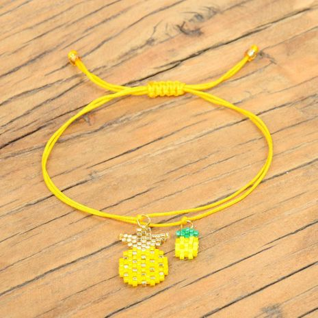 Women's Bracelet Pineapple with Star Ornaments Miyuki Rice Beads NHGW175128's discount tags