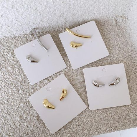 Individuality asymmetric cold wind shaped integrated ear clip NHYQ174980's discount tags